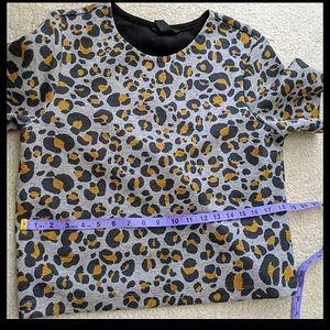 3/$50- H&M Leopard Print Top